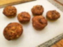 Jumbo Apple Granola Sourdough Breakfast Muffins