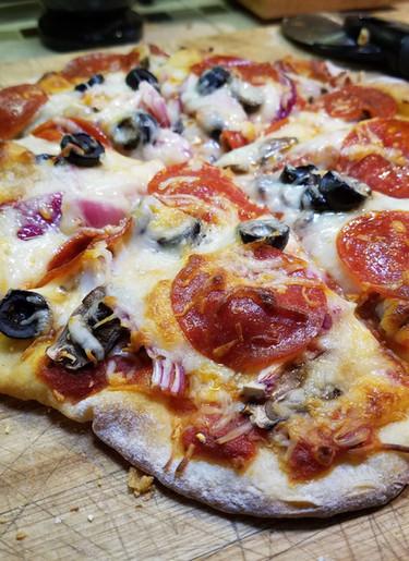 Best Sourdough Pizza Crust