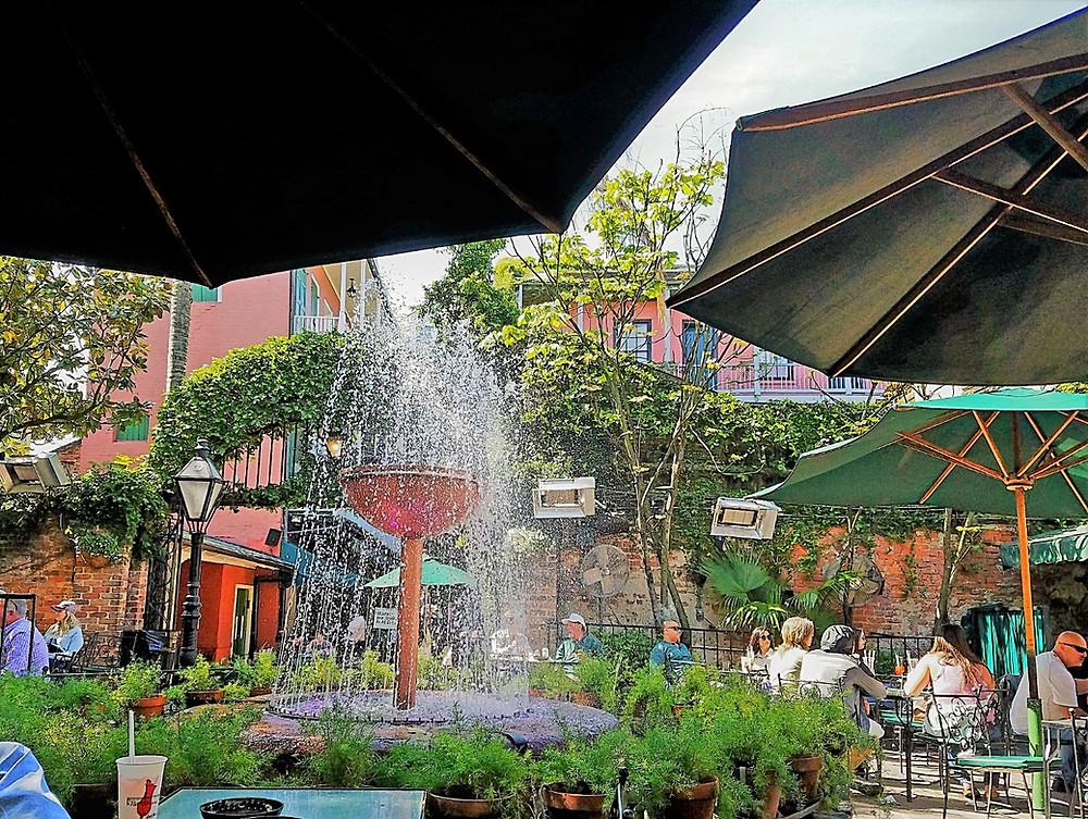 Pat O'Brien's Courtyard, New Orleans, LA