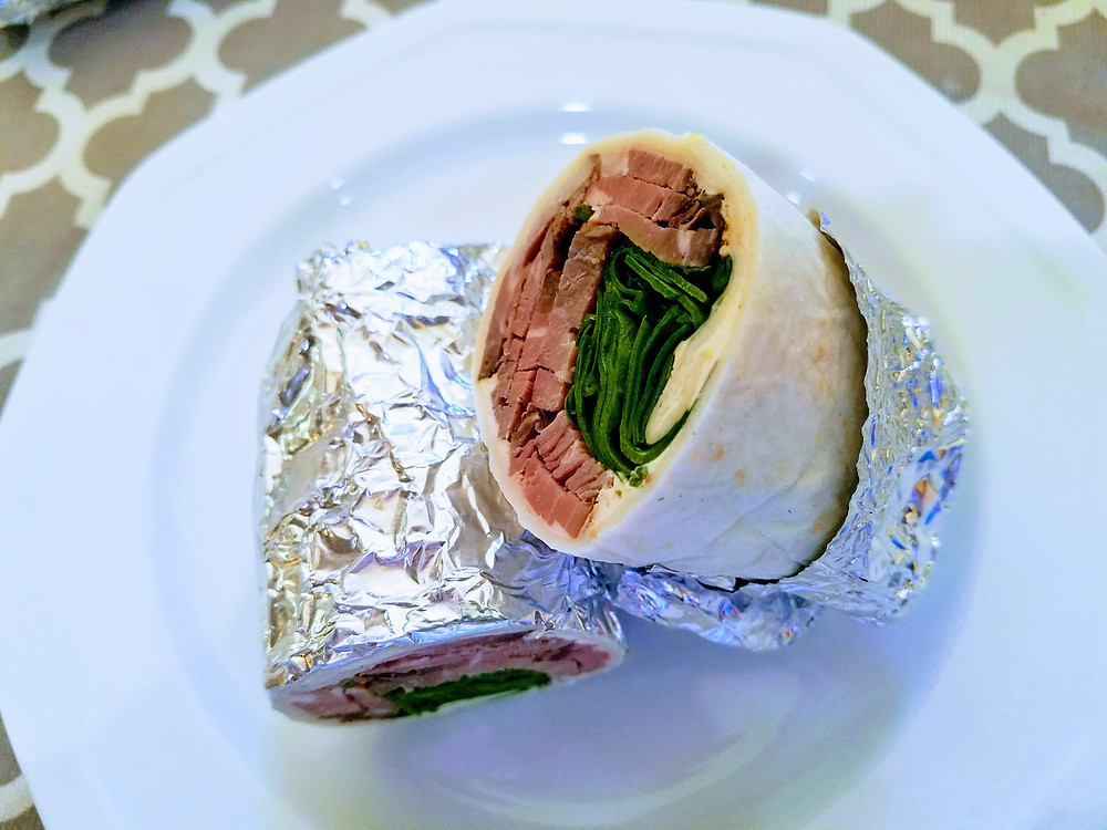 Smoked Beef Wrap