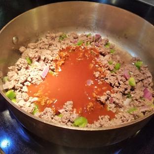 Add the Koss Sauce.