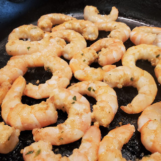 Turn them once and cook 2-3 minutes more until pink and opaque.