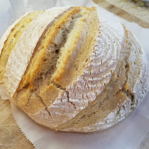 Rosemary Garlic Sourdough Bread