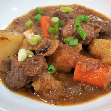 Spicy Sweet Stew with Koss Sauce