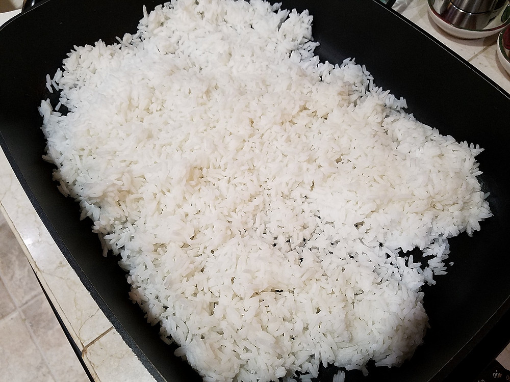 3 day old rice for fried rice