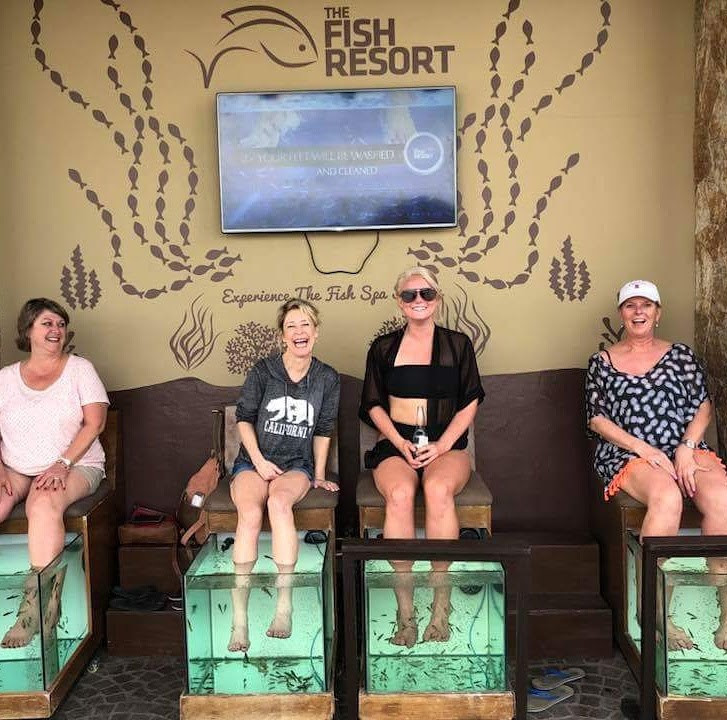 Fish Pedicure at The Fish Resort in Cabo San Lucas