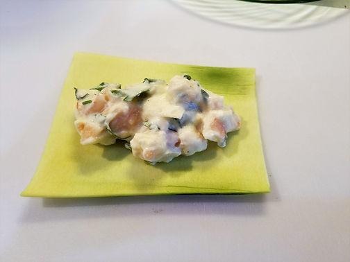 Shrimp Stuffed Zucchini Cannelloni
