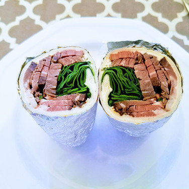 Smoked Beef Wraps