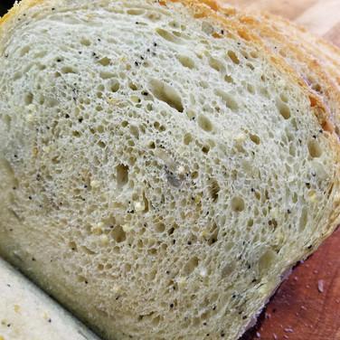 Seeded Sourdough Sandwich Bread
