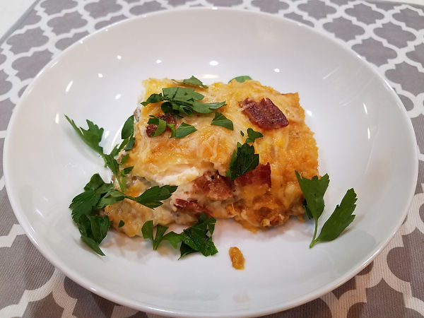 Bacon Pumpkin Lasagna