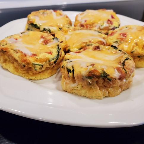 Light Breakfast Egg Muffins