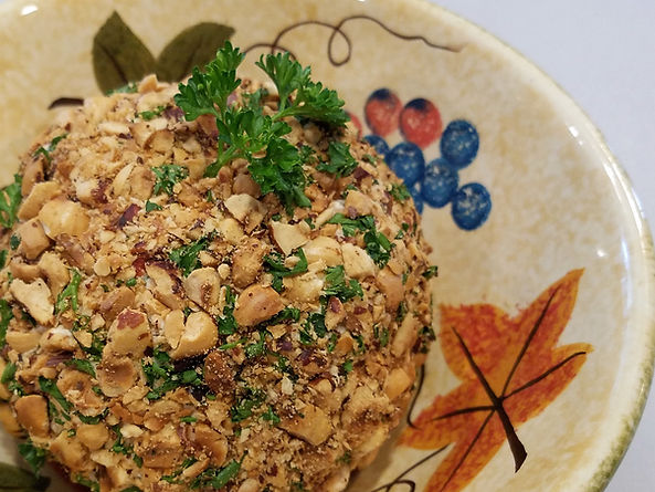 Smoked Salmon Spread Cheese Ball