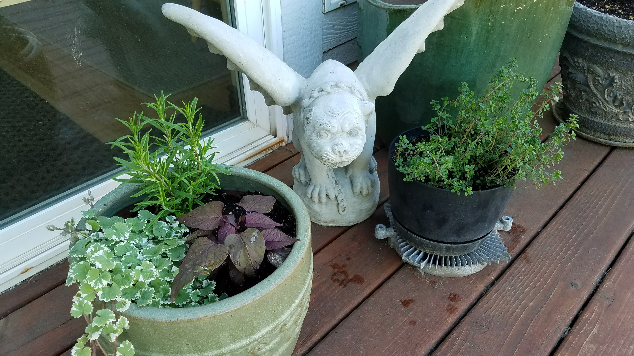 Gargoyle and Containers
