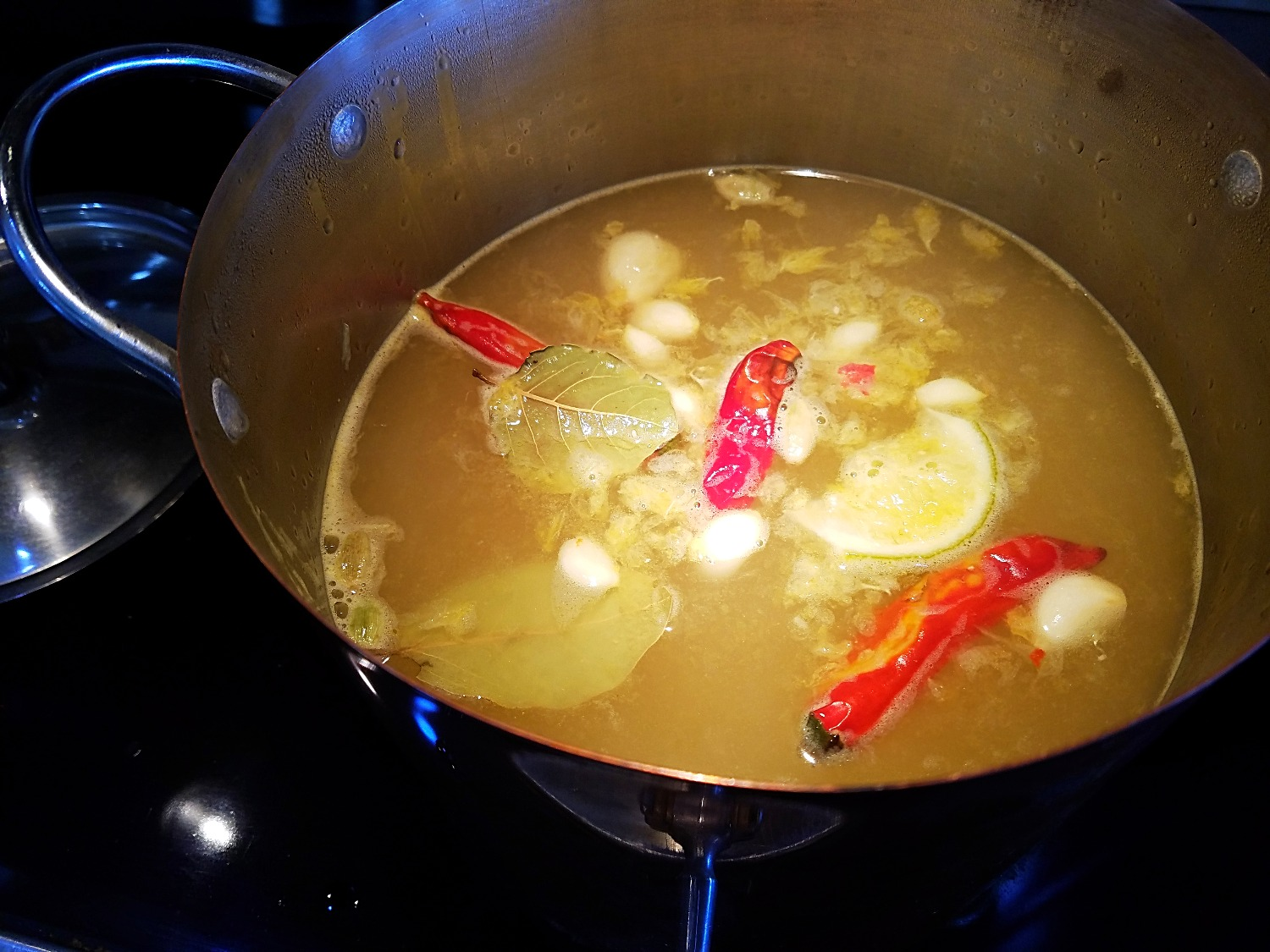 Spicy Feel Better Broth