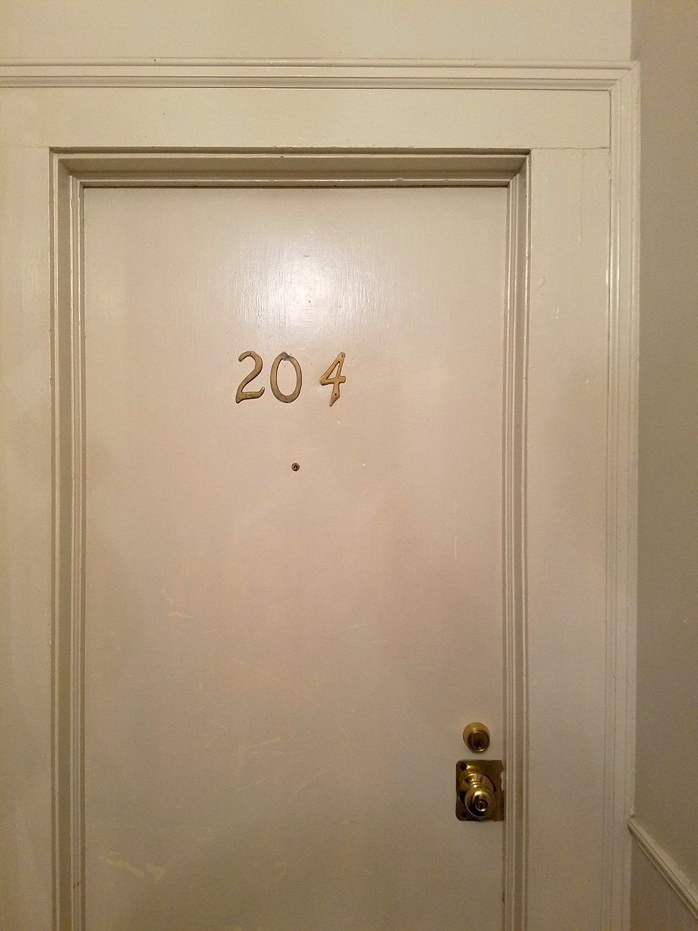 Andrew Jackson Hotel, New Orleans room 204