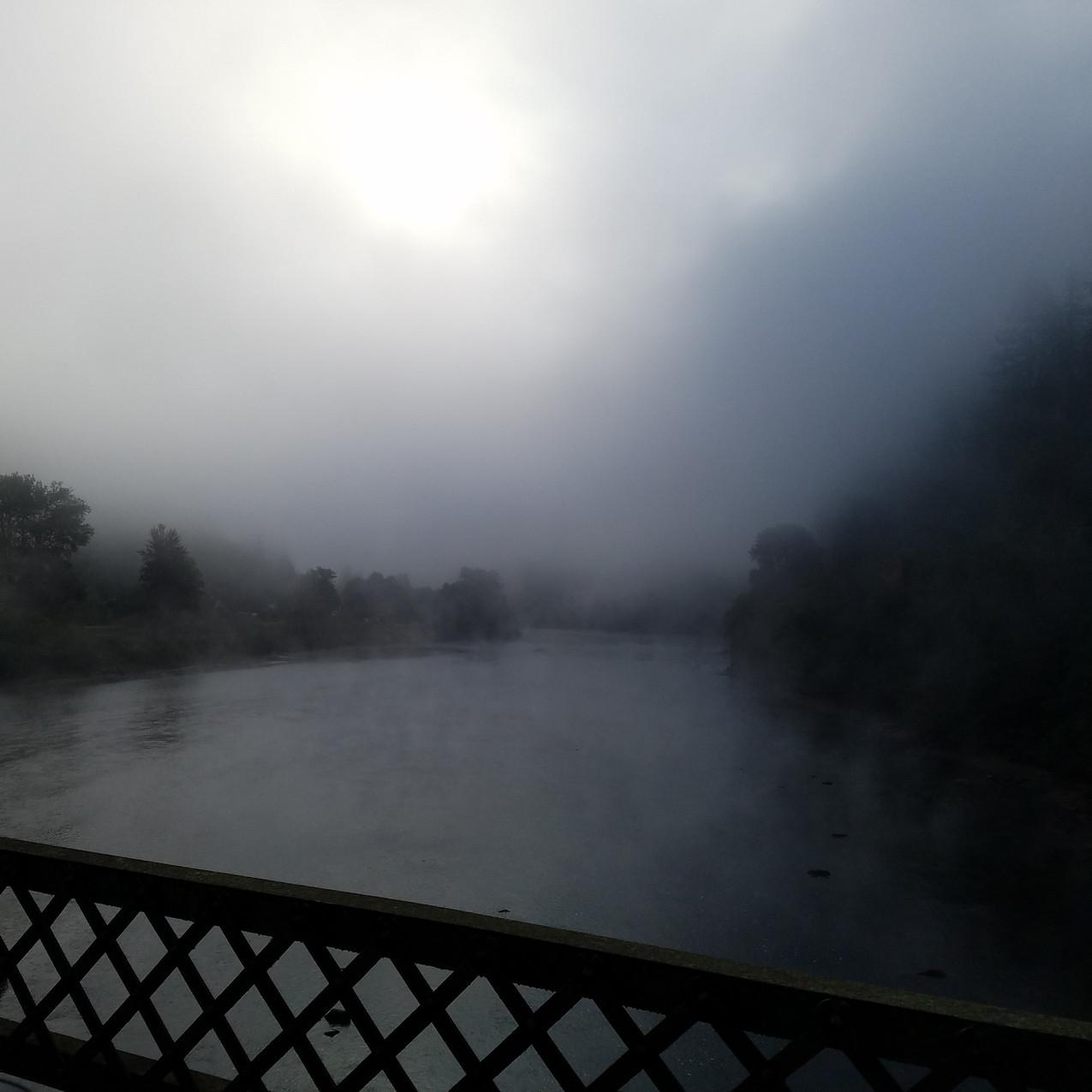 At the Scottsburg Bridge