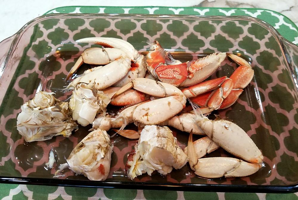 Szechuan Salt & Pepper Dungeness Crab with Shrimp