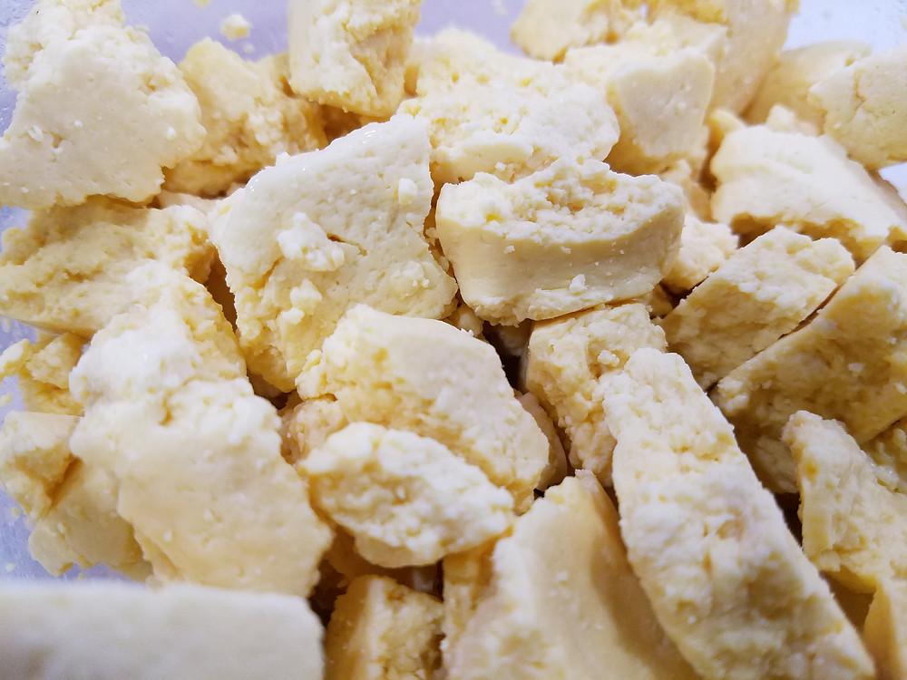 Home made fresh Cheese Curds