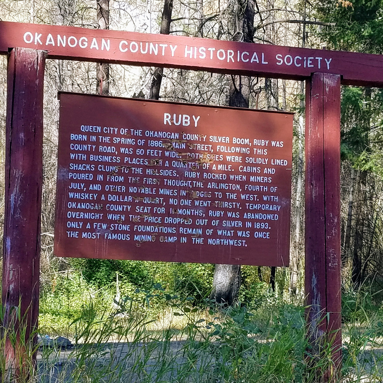 The Historic Town of Ruby