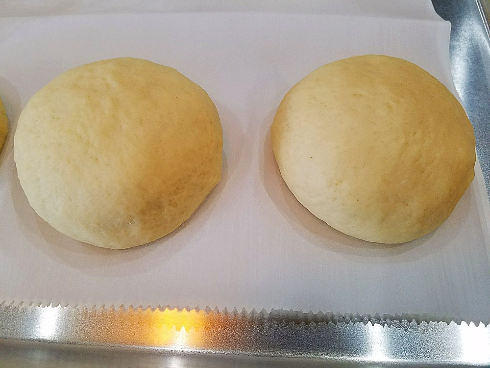 Proofing Sourdough Buns