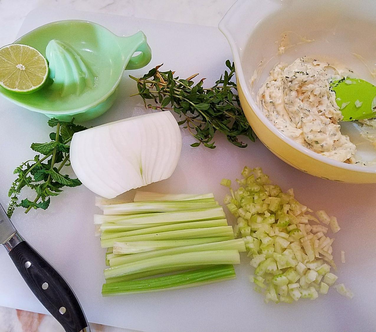 Summer Chicken Salad Ingredients