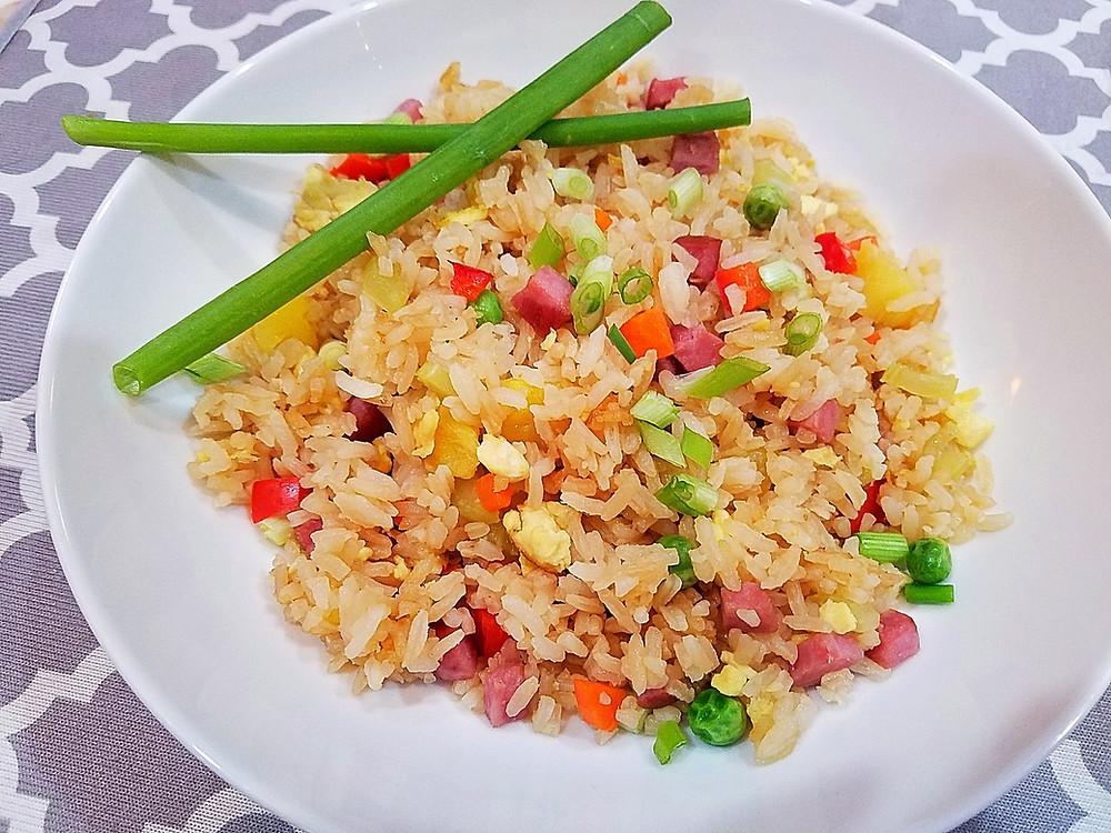 Pineapple Ham Fried Rice