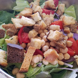 Top with some home made croutons