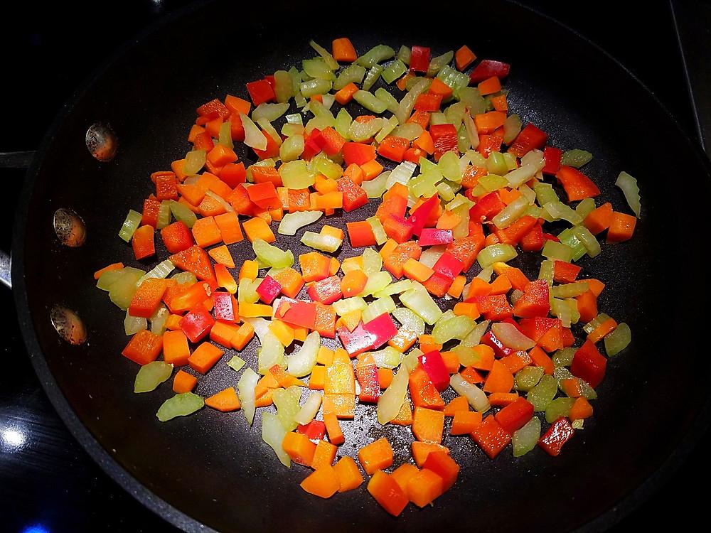 veggie stir-fry for fried rice
