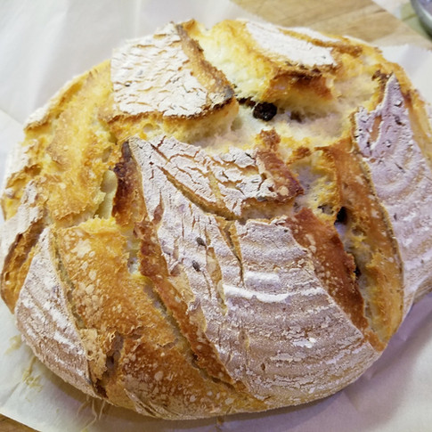 Cranberry Sourdough Bread