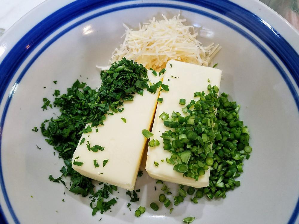 Garlic Scape Butter