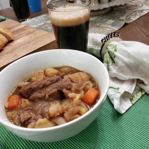 Irish Lamb Stew with Guinness