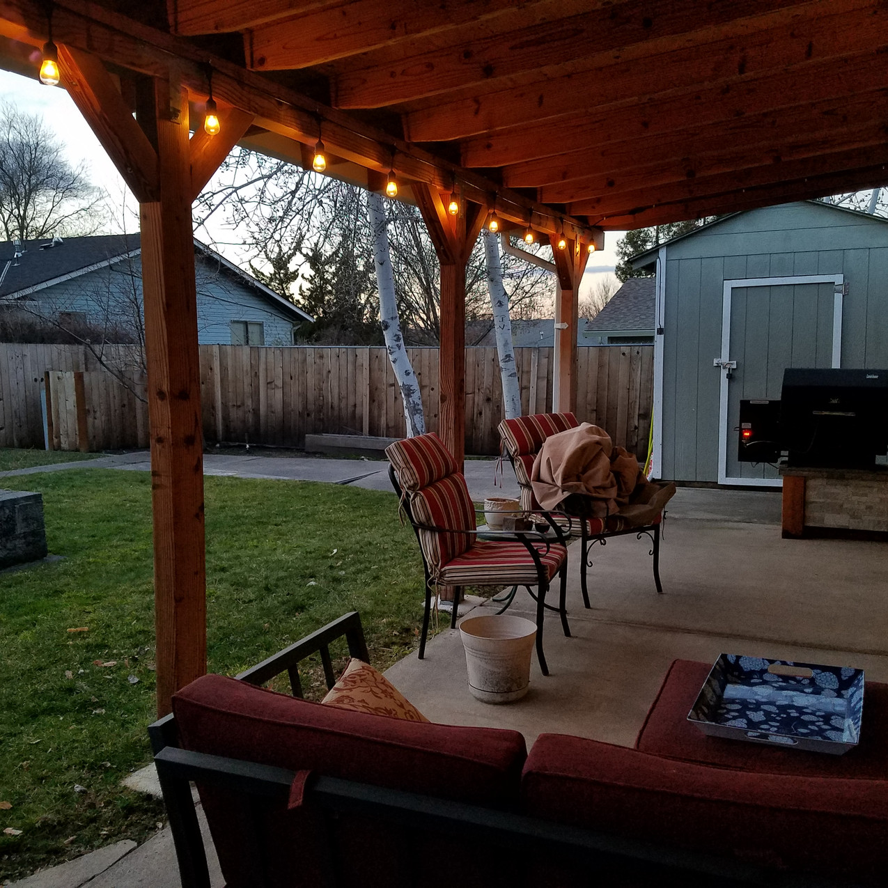 What a great place for cooking out!