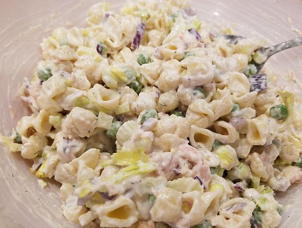 Creamy Tuna Pasta Salad