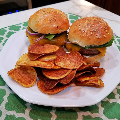 House Made Burgers and Chips
