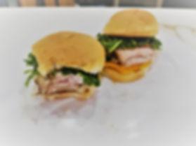 Smoked Pork Loin Sliders