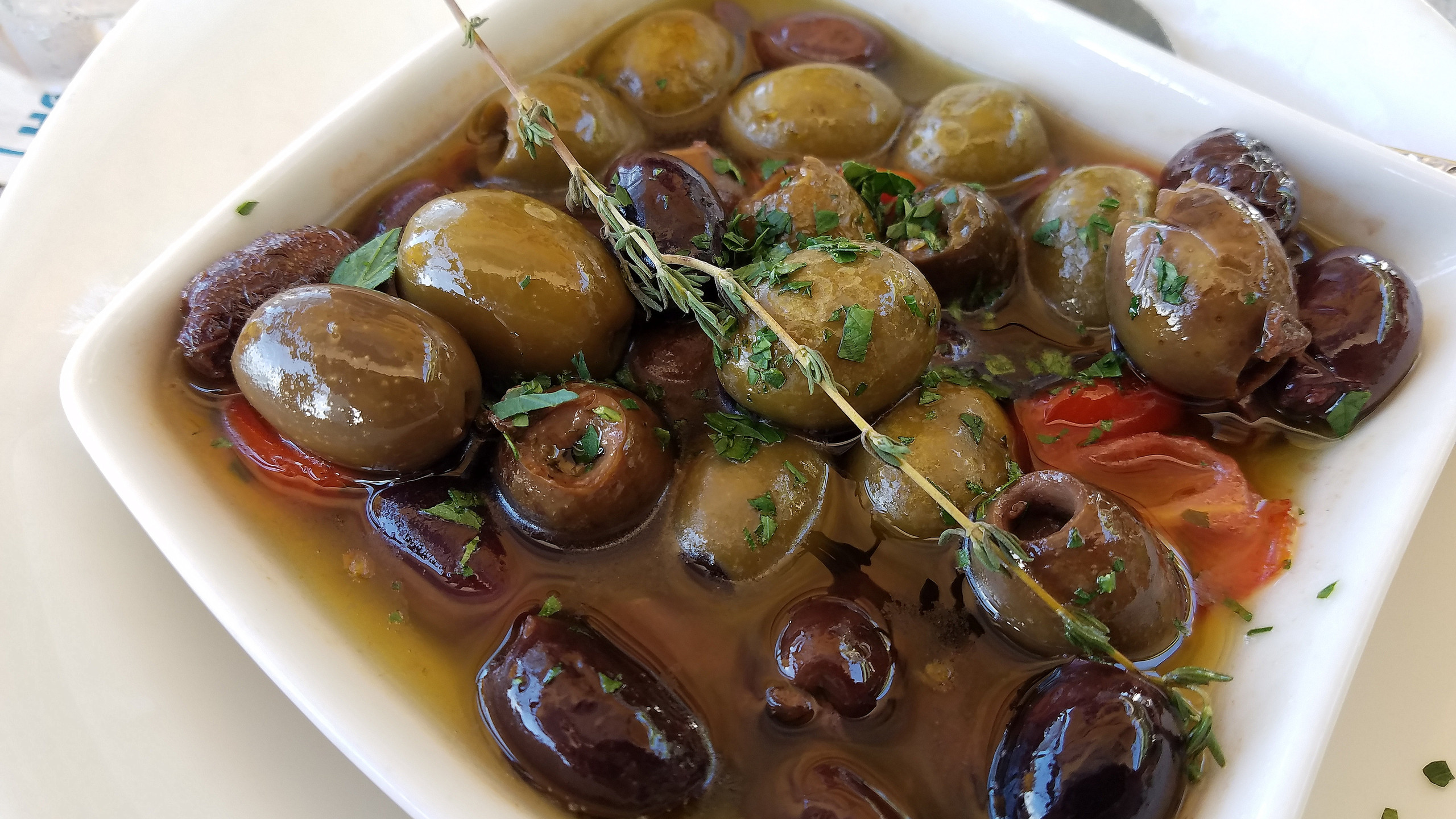 Delicious Warm Olives