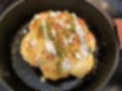 Whole Roasted Cauliflower with Tahini Sauce