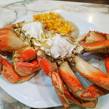 Easy Crab Dinner