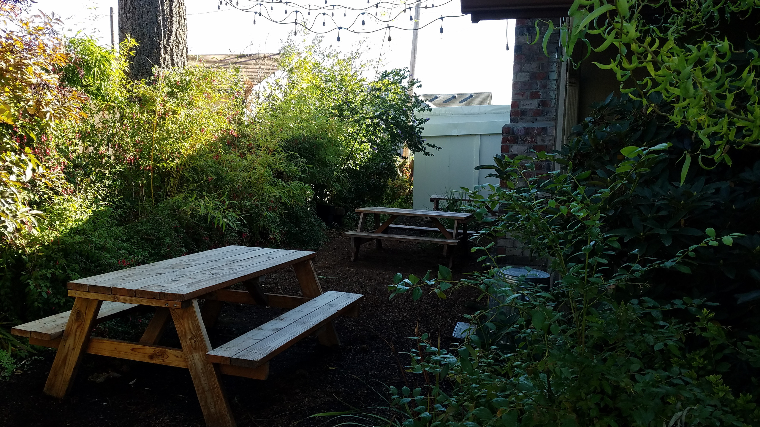 Cresswell Bakery outdoor seating