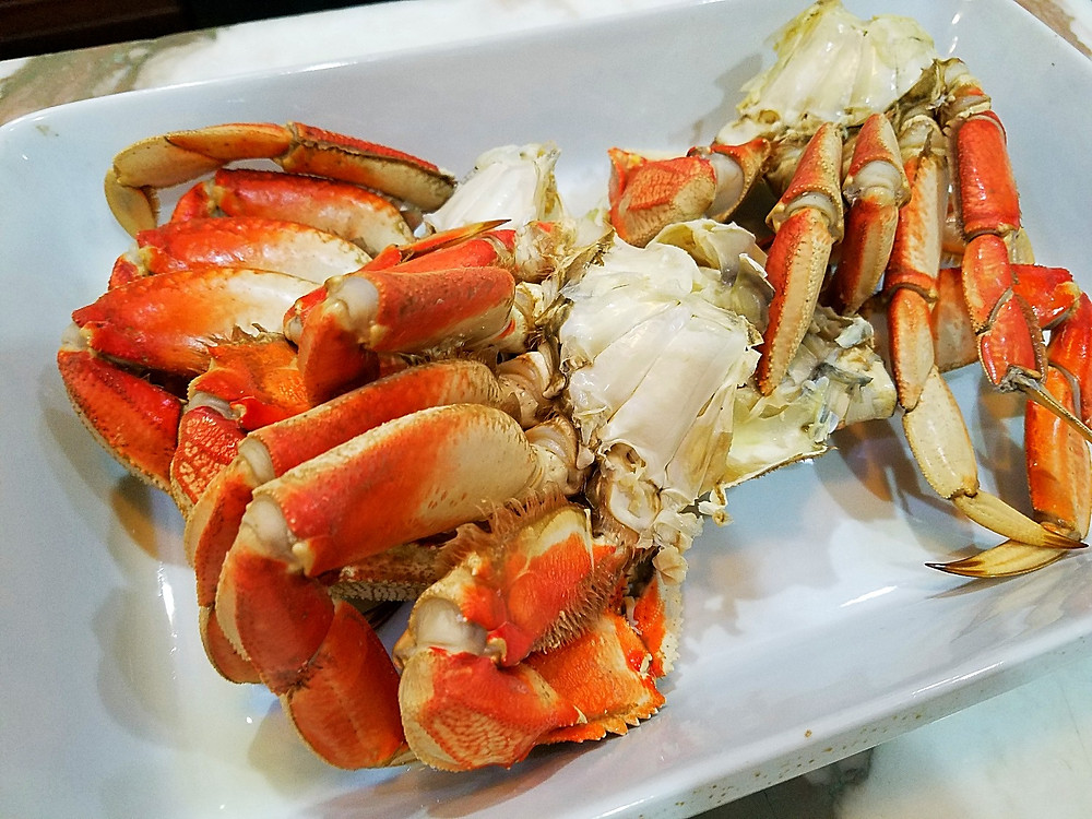 Cooked, Cleaned Dungeness Crab