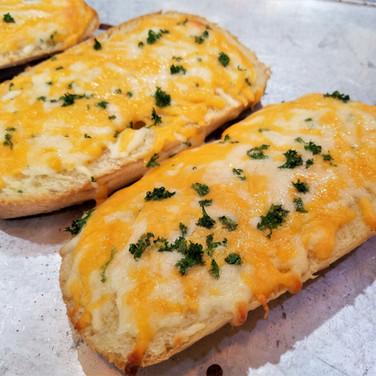 Pub Style Cheesy Bread