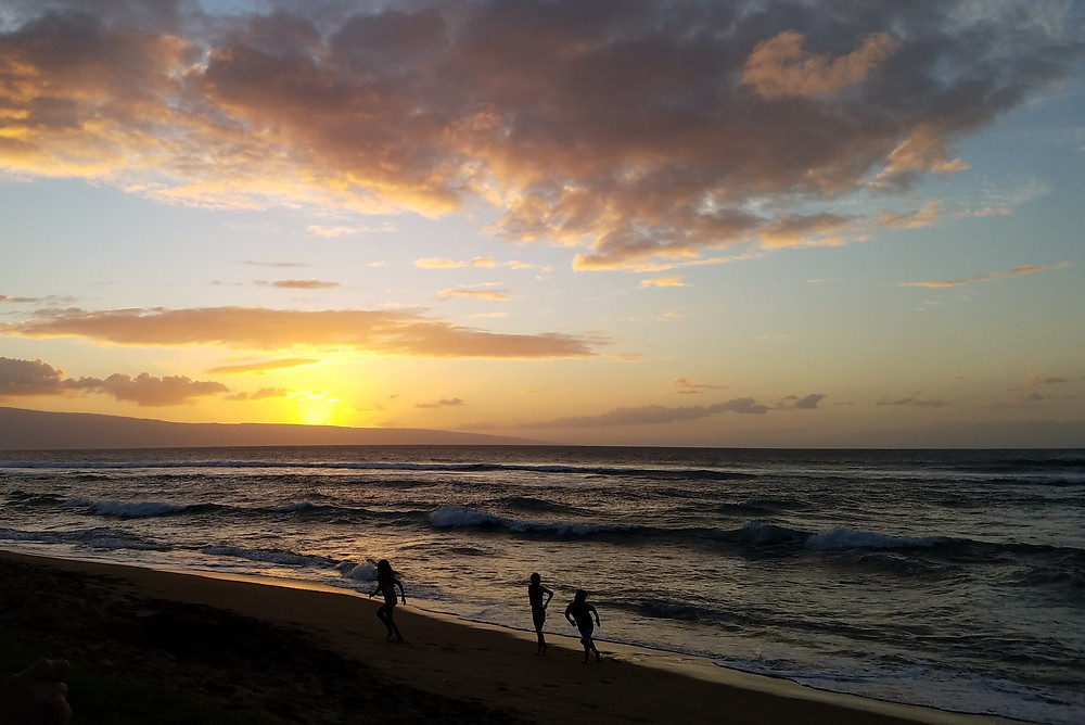 Sunset at Hale Mahina, West Maui