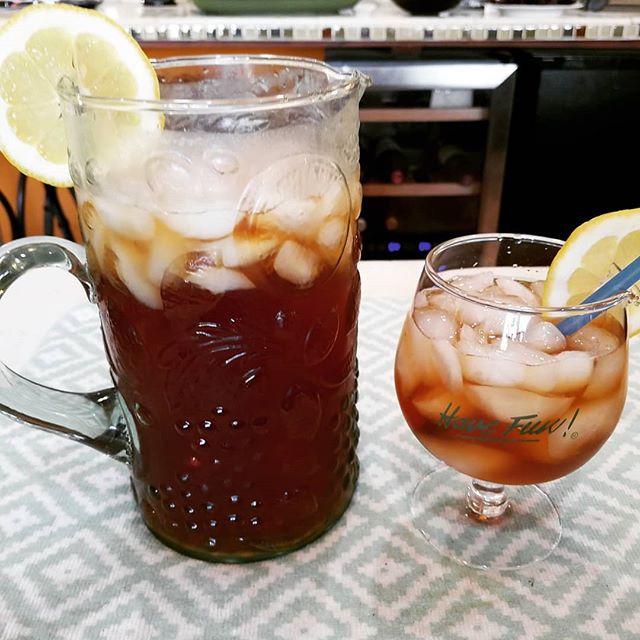 Blueberry Iced Tea Cocktails
