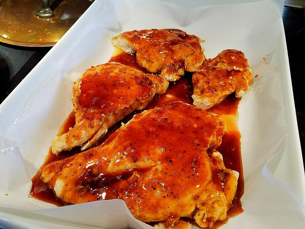 Firecracker chicken breasts