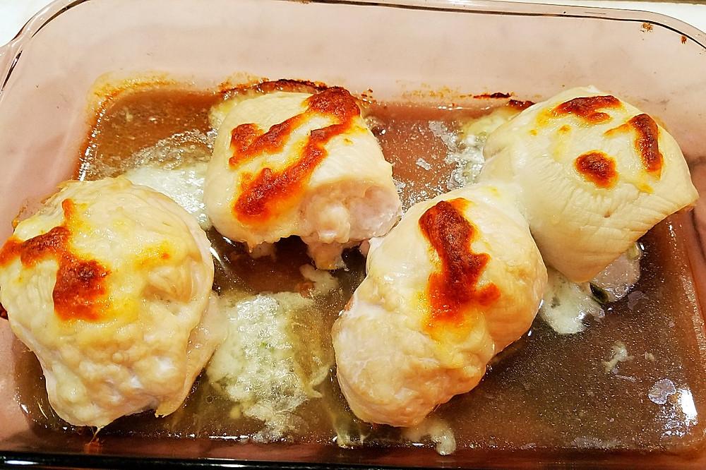 Shrimp Stuffed Chicken Breasts