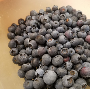 make sure your berries are clean and free of debris.