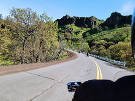 Motorcycle Riding Mosier, OR