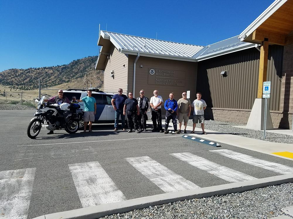 Nighthawk US Canada Border Crossing
