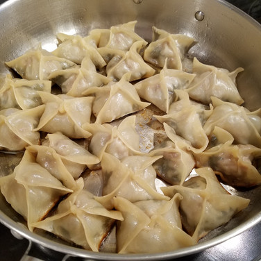 Shiso Pork Pot Stickers
