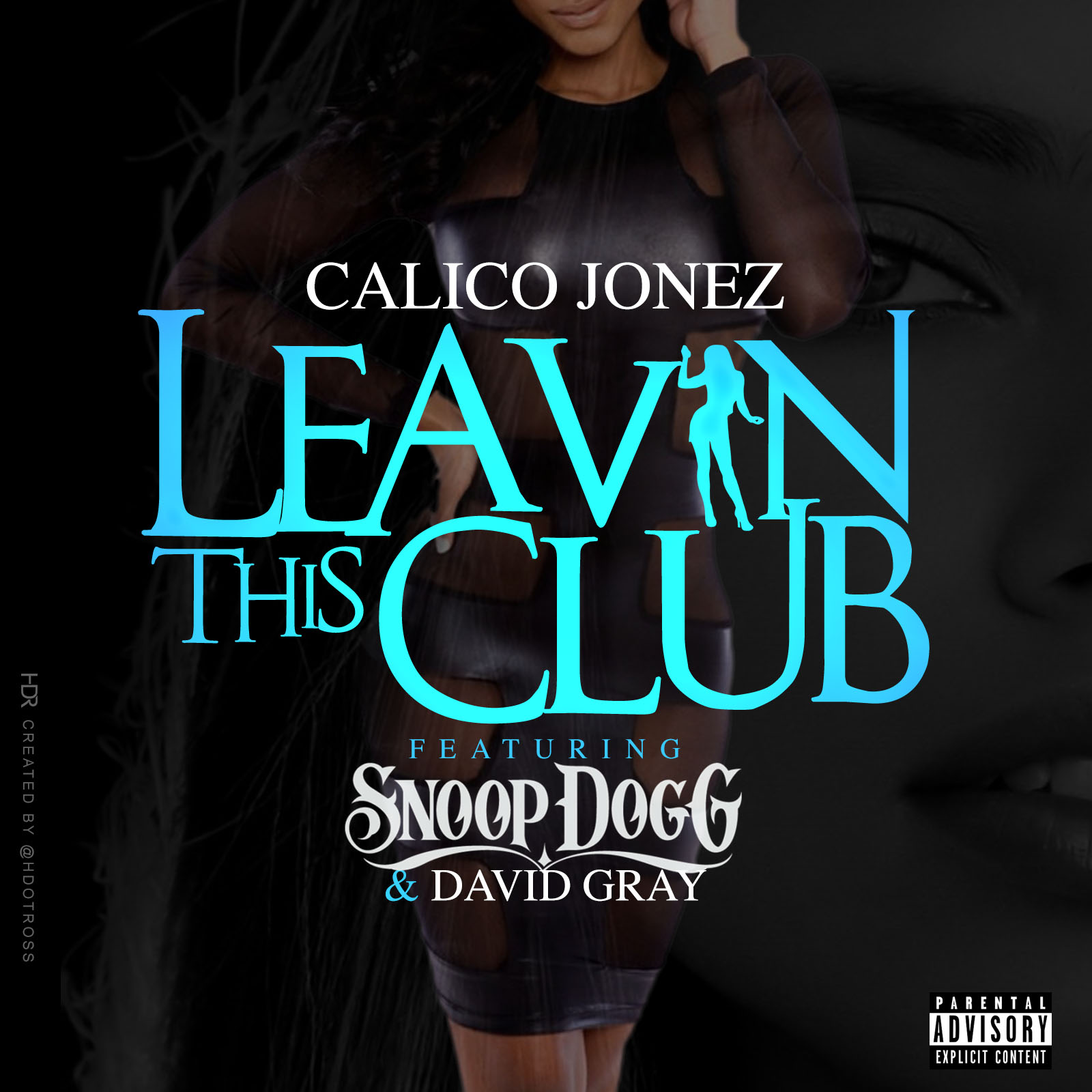 leavin the club cover